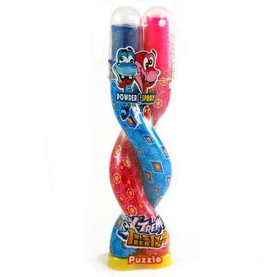 Змея Жидкая конфета спрей и порошок Twisty Treats X-Treme 16 гр, фото 3