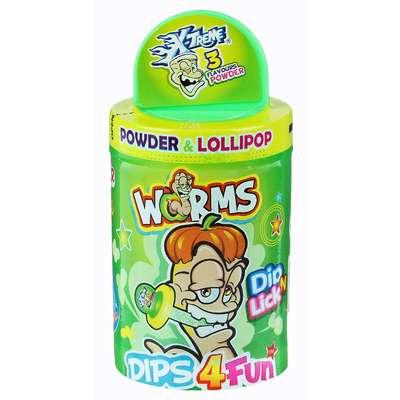 Леденец и кислый порошок Worms X-treme 24 гр, фото 2