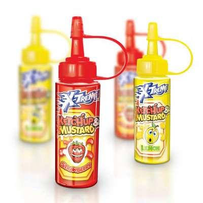 Жидкая конфета Кетчуп и горчица Ketchup & Mustard X-treme 50 мл, фото 2