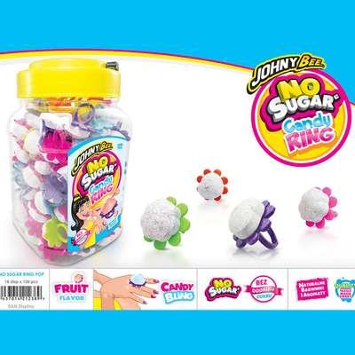 Кольцо и шипучая конфета Candy Ring Pop X-treme 5,5 гр x 120 шт, фото 2