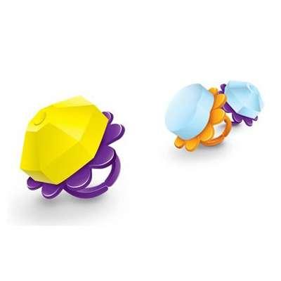 Кольцо и шипучая конфета Candy Ring Pop X-treme 5,5 гр x 120 шт, фото 3