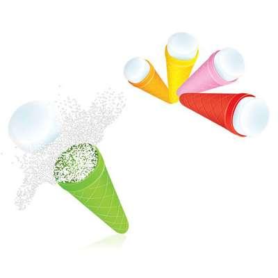 Шипучая конфета с кислым порошком Top Cones X-treme 12,5 гр x 150 шт, фото 2