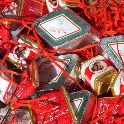 Коробка итальянских конфет Подарок любимой, фото 4