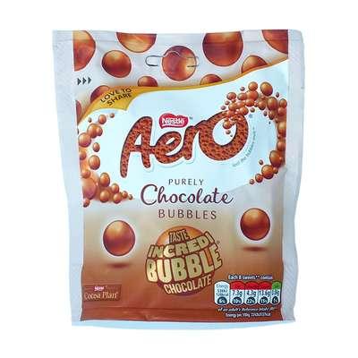 Шоколадные шарики Aero Chocolate Bubbles Nestle 102 гр, фото 1