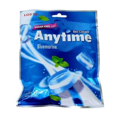 Леденцы с ксилитолом и травами без сахара Bluemarine Anytime Lotte 74 гр, фото 1