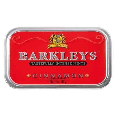 Леденцы корица Cinnamon Barkleys 50 гр, фото 2
