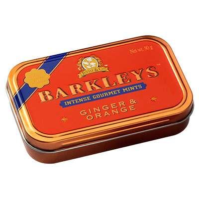 Леденцы имбирь и апельсин Ginger and Orange Barkleys 50 гр, фото 1