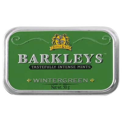 Леденцы Зимняя свежесть Wintergreen Barkleys 50 гр, фото 2