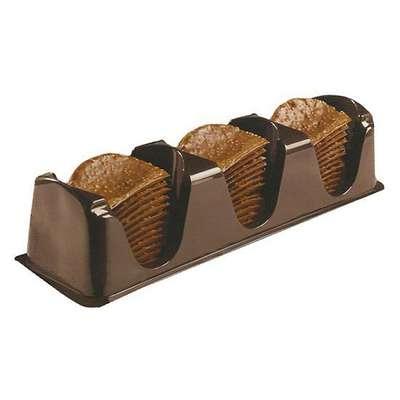 Шоколадные чипсы с апельсином Belgian Milk Chocolate Thins Orange 80 гр, фото 2
