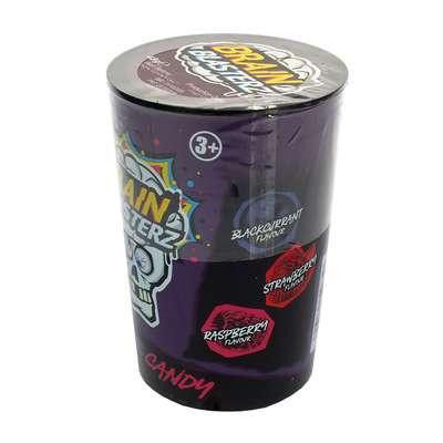 Кислые леденцы фиолетовая банка 3 вкуса Brain Blasterz Dark 48 гр, фото 2