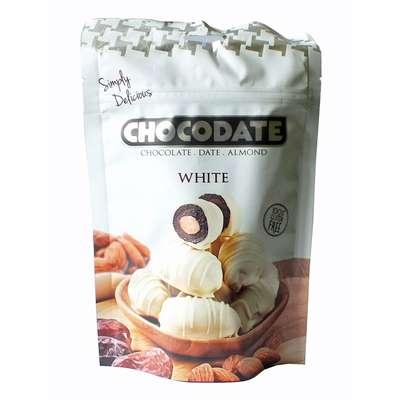 Финики в шоколаде Exclusive Pouch Milk White Chocodate 100 гр, фото 1