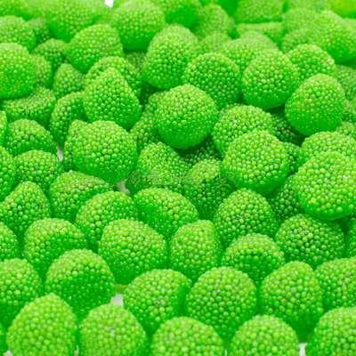 Мармелад Ягоды в обсыпке зеленые Damel 1 кг, фото 1