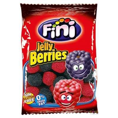 Жевательный мармелад Красные и черные ягоды в обсыпке Fini 100 гр, фото 1