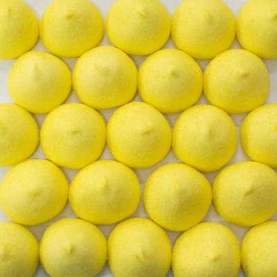 Суфле Мячики-гольф желтые банан Fini 1 кг, фото 1