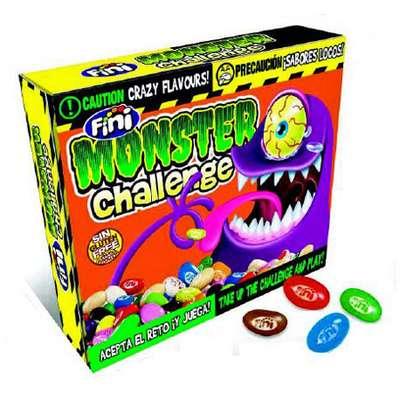 Мармеладное драже с необычными вкусами Monster Challenge с карточками Fini 100 гр, фото 1