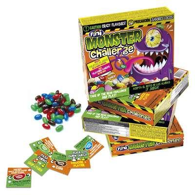 Мармеладное драже с необычными вкусами Monster Challenge с карточками Fini 100 гр, фото 2