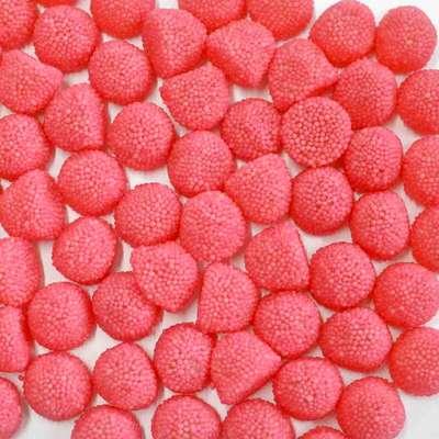Жевательный мармелад Ягоды розовые в обсыпке Fini 1 кг, фото 1