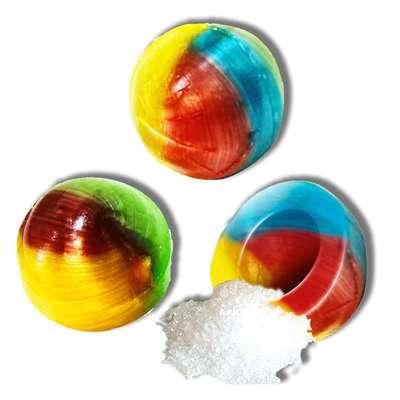 Леденцовая карамель Unicorn balls кислые Fini 5 гр x 200 шт, фото 3