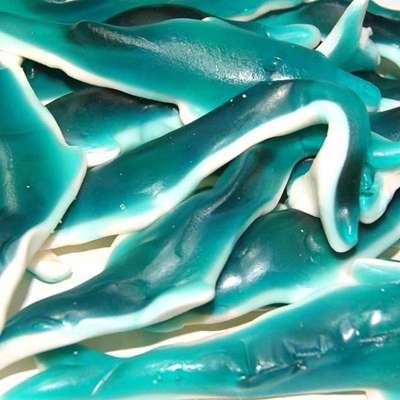 Мармелад на развес Гигантские Дельфины Fini 100 гр, фото 1