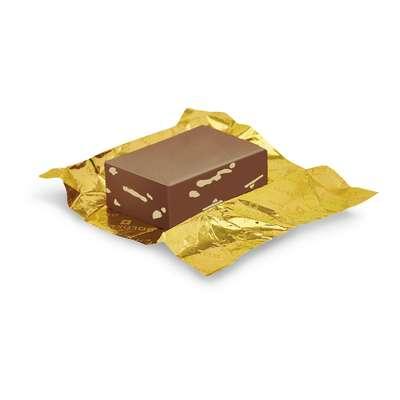 Золотой слиток молочный шоколад Swiss Goldbar Goldkenn 300 гр, фото 3