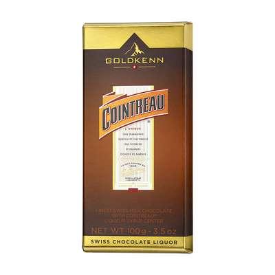 Молочный шоколад с ликером Cointreau Goldkenn 100 гр, фото 1
