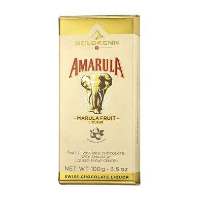 Молочный шоколад с ликером Amarula Goldkenn 100 гр, фото 1
