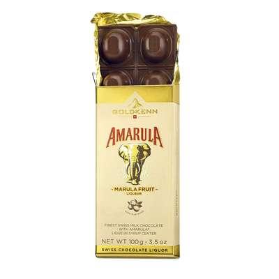 Молочный шоколад с ликером Amarula Goldkenn 100 гр, фото 2