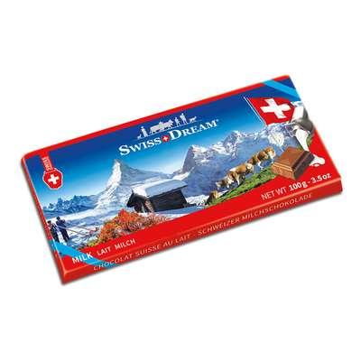 Молочный шоколад Swiss Dream Goldkenn 100 гр, фото 1