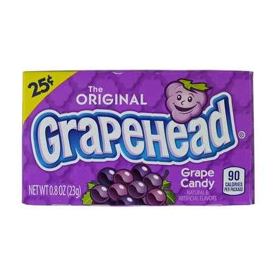 Драже со вкусом винограда Grape Candy Grapehead 23 гр, фото 2