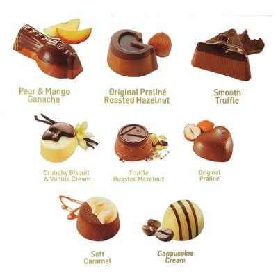 Набор шоколадных конфет ассорти Opus Guylian 180 гр, фото 2
