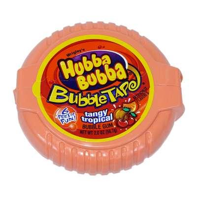 Жевательная резинка Hubba Bubba Tandy Tropical Wrigley 56 гр, фото 1