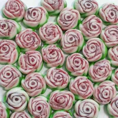 Мармелад на развес Розы с начинкой Jake 100 гр, фото 1