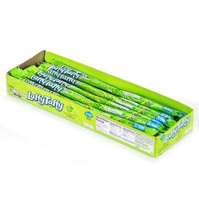 Жевательные конфеты Laffy Taffy Кислое яблоко Wonka 22,9 гр, фото 4