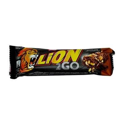 Шоколадный батончик 2GO Bar Nestle Lion 33 гр, фото 1