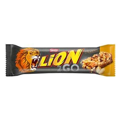 Арахисовый батончик 2GO Bar Nestle Lion 33 гр, фото 1