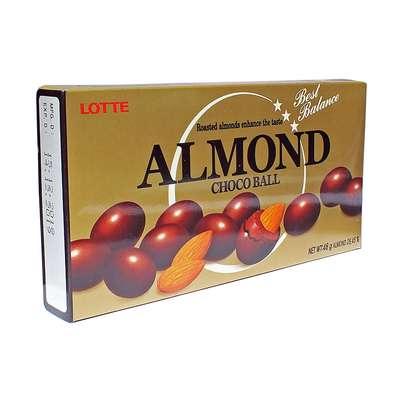 Миндаль в молочном шоколаде Almond Lotte 46 гр, фото 1