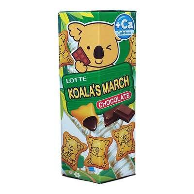 Печенье с шоколадной начинкой Koala March Chocolate Lotte 37 гр, фото 1