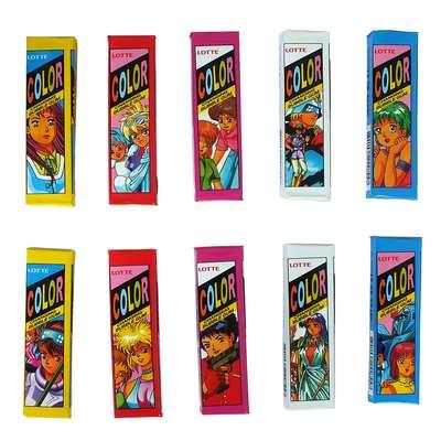 Жевательная резинка Color Lotte 12,6 гр, фото 1
