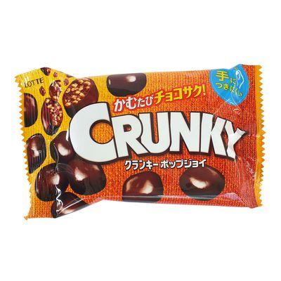 Шоколадные хрустящие шарики Crunky Pop Joy Lotte 44 гр, фото 1