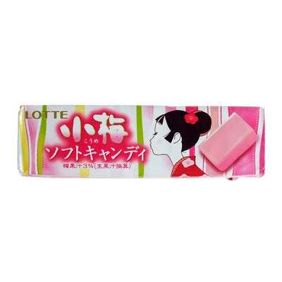 Жевательные конфеты вкус японской сливы Koume Soft Candy Lotte 54 гр, фото 2