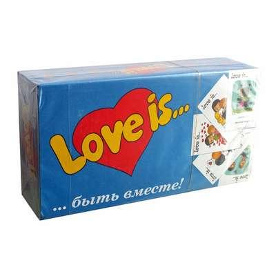 Жевательная резинка Ассорти Вкусов 25 историй LOVE IS 4,2 гр x 25 шт, фото 1