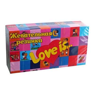 Жевательная резинка Весеннее ассорти вкусов LOVE IS 4,2 гр x 25 шт, фото 1