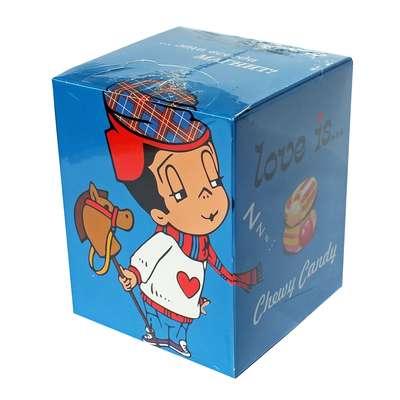 Жевательные конфеты Микс вкусов мальчик промо упаковка LOVE IS 105 гр, фото 1