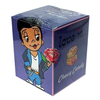 Жевательные конфеты Микс вкусов мальчик промо упаковка LOVE IS 105 гр, фото 3