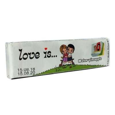 Жевательная конфета Дыня Ананас LOVE IS 25 гр, фото 1