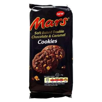 Бисквитное печенье Soft Baked Double Chocolate and Caramel Mars 162 гр, фото 1