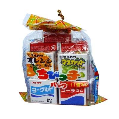 Жевательная резинка ассорти 11 вкусов Marukawa 58,2 гр, фото 1