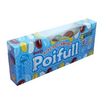 Жевательные конфеты со вкусом лимонада и колы Poifull Meiji 53 гр, фото 1
