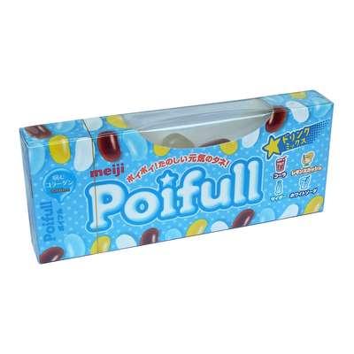 Жевательные конфеты со вкусом лимонада и колы Poifull Meiji 53 гр, фото 2