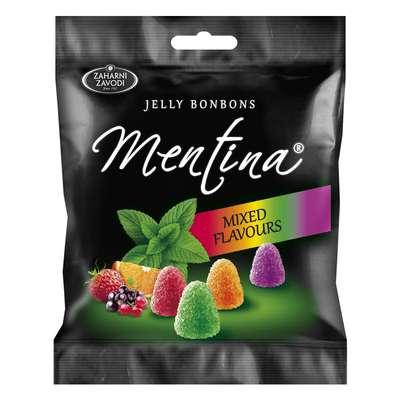 Жевательный мармелад Микс вкусов с мятой Mentina 90 гр, фото 1